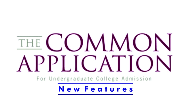 2017-2018 Common Application New Features