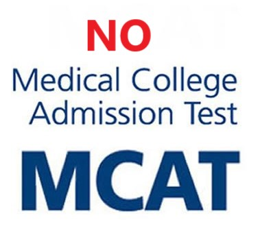 No_MCAT_programs