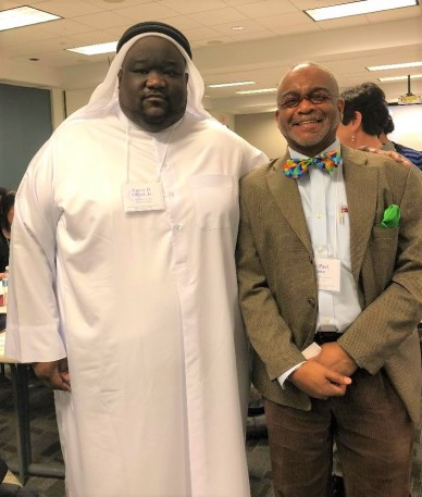 Larry Oliver Jr Academic Manager Embassy of the State of Qatar, Cultural Attache Office with Dr. Lowe Educational Consultant Admissions Advisor