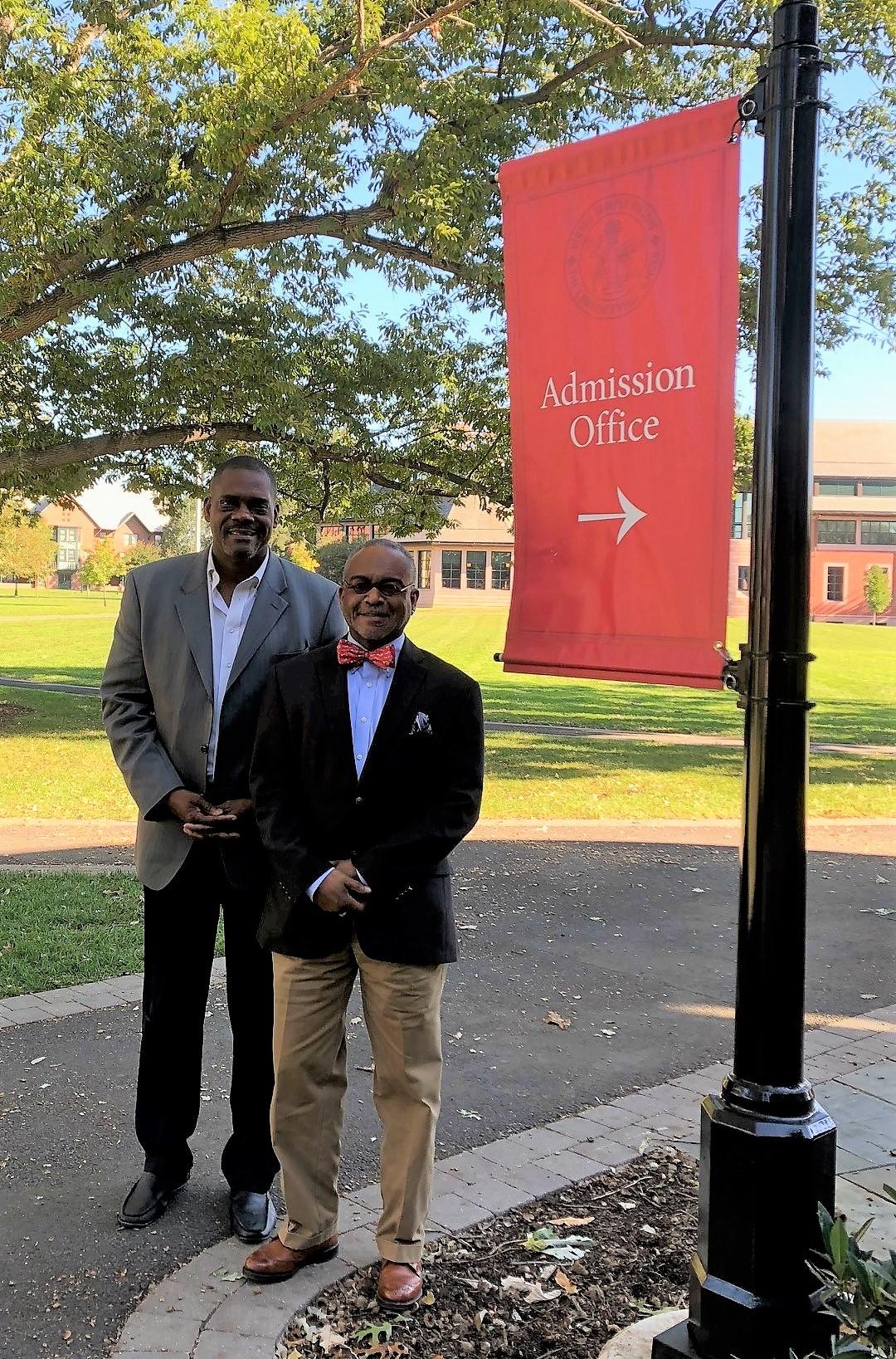 Dr Paul Lowe Samuel Washington Boarding School Visit